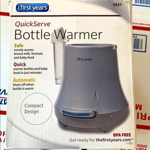 THE FORST YEARS QUICK SERVE BOTTLE WARMER